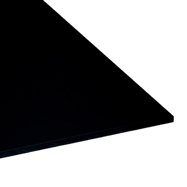 plaque de pvc rigide noir 500 x 500mm paisseur 5mm. Black Bedroom Furniture Sets. Home Design Ideas