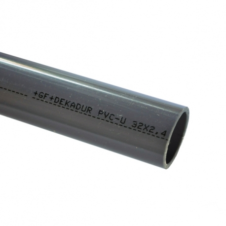 Tube PVC-U pression D32mm