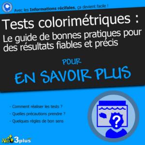 Test colorimétriques - guide des bonnes pratiques