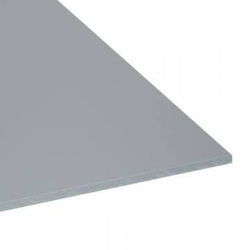 Plaque carrée 500mm en PVC gris