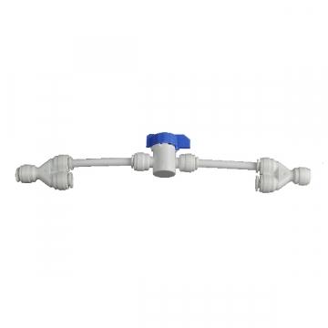 By-pass de rinçage manuel de membrane d'osmose