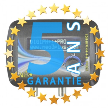 Extension de garantie à 5 ans DIGIDOSER+++PRO