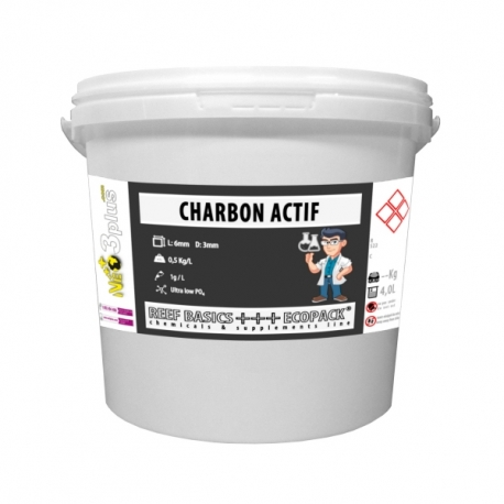 Charbon actif ECOPACK 4L