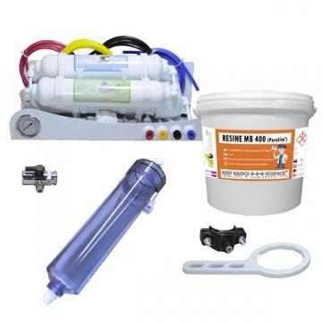Pack Osmoseur RO/AQUA+++PRO XL + déionisation