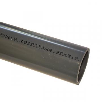 Tube PVC-U pression D40mm